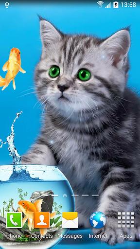 Cat Live Wallpaper 1.0.8 screenshots 5