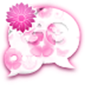 GO SMS - Pastel Flowers icon