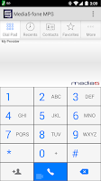 Screenshot of Media5-fone MPS VoIP Softphone