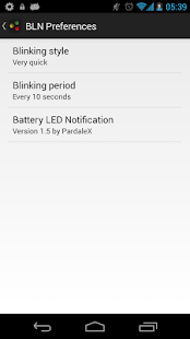 Battery LED Notification - screenshot thumbnail
