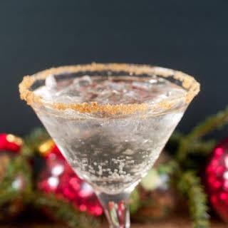 Gingerbread Martini.