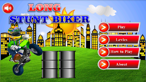 Long Stunt Biker