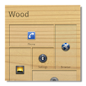 Wood theme for SquareHome icon