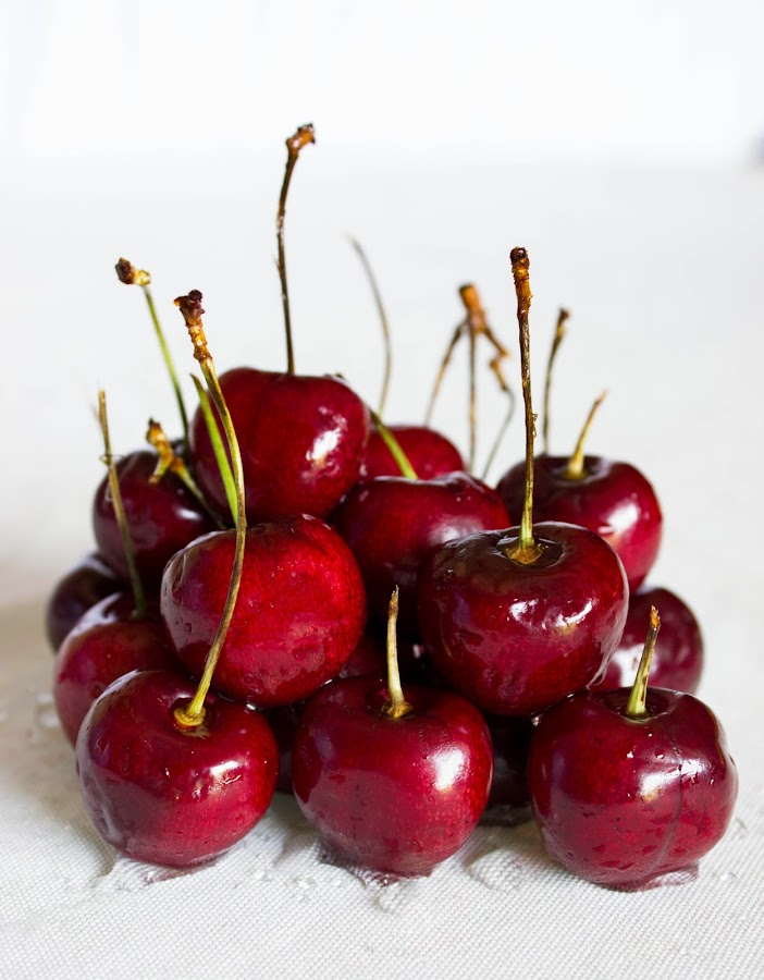 cherries  by Drayton Tyson - Food & Drink Fruits & Vegetables ( fruit, red, awesome, fresh, cherries )