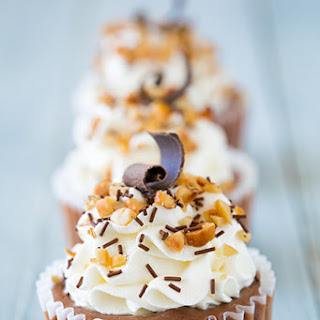 Nutella Cheesecake Cupcakes.