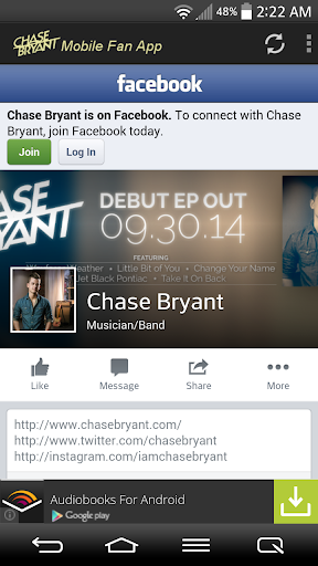 Chase Bryant Fans Mobile  screenshots 5