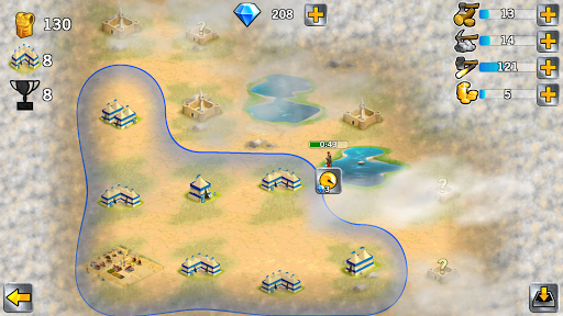 Battle Empire: Rome War Game  screenshots 3