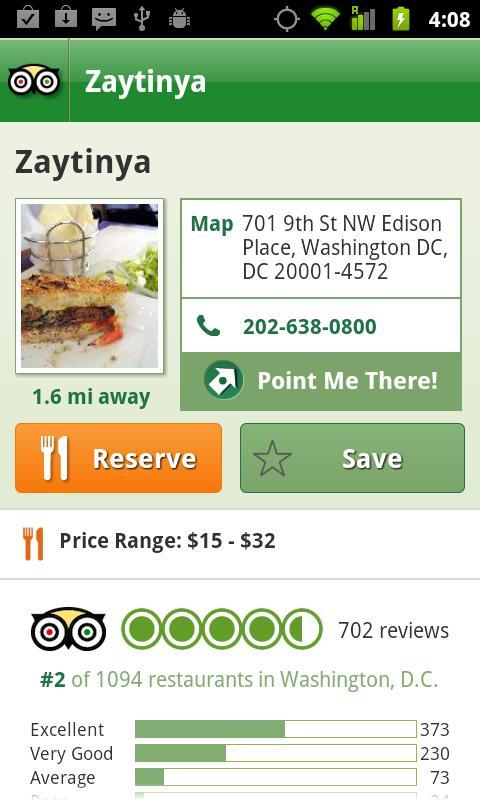 Washington DC City Guide screenshot #3