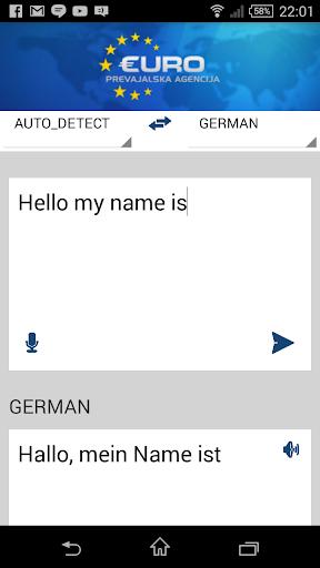 Eurotra translator