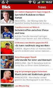 Blick Fussball - screenshot thumbnail