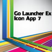 Icon App 7 Go Launcher EX