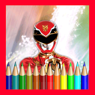 Coloring Books Power Rangers