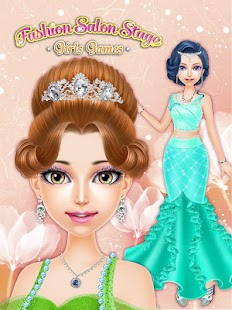 Fashion Salon Stage Girl Game Android Apps On Google Play - Hairstyle girl game