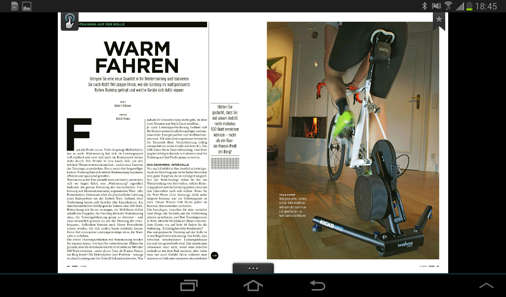TOUR - Das Rennrad Magazin- screenshot