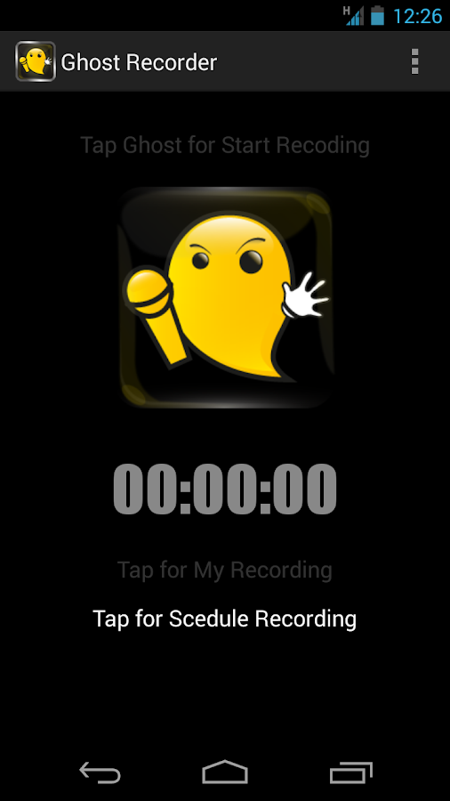 Ghost Recorder - screenshot