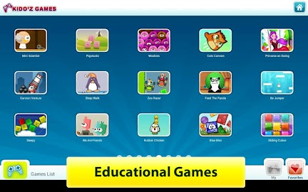 KIDOZ - Kids Games & Videos Screenshot 1
