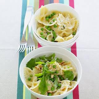 Creamy Pasta with Peas.
