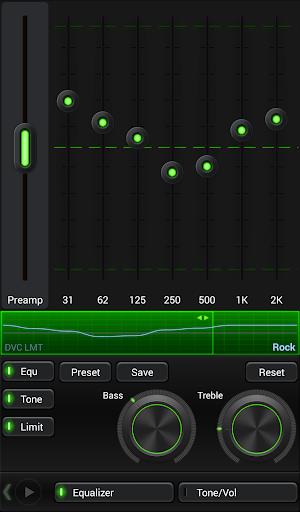 Mad Jelly Green Poweramp Skin  screenshots 2