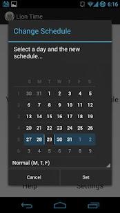 【免費生產應用App】Lion Time-APP點子