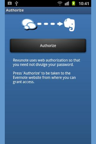 Revunote for Evernote - screenshot