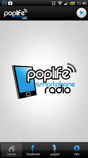 Poplife Smartphone Radio
