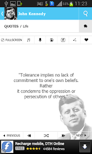 John Kennedy Quotes- screenshot thumbnail