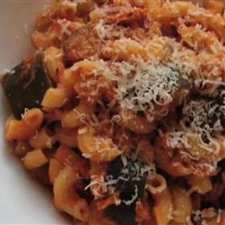 Tuna Zucchini Elbow Pasta