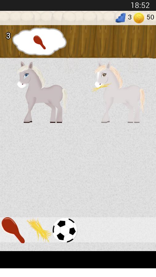 Horse Care Game - screenshot
