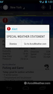 AccuWeather Platinum - screenshot thumbnail