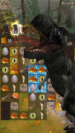 Jurassic Free Fall Match 3