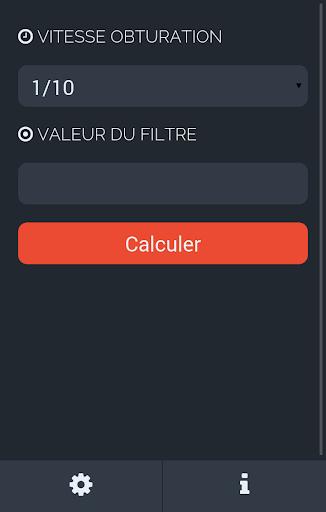 ND Filter Calculator