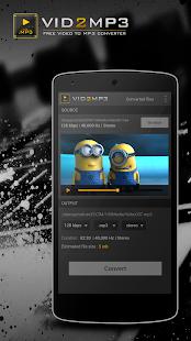 玩免費媒體與影片APP|下載Vid2mp3 - Video Mp3 Converter app不用錢|硬是要APP