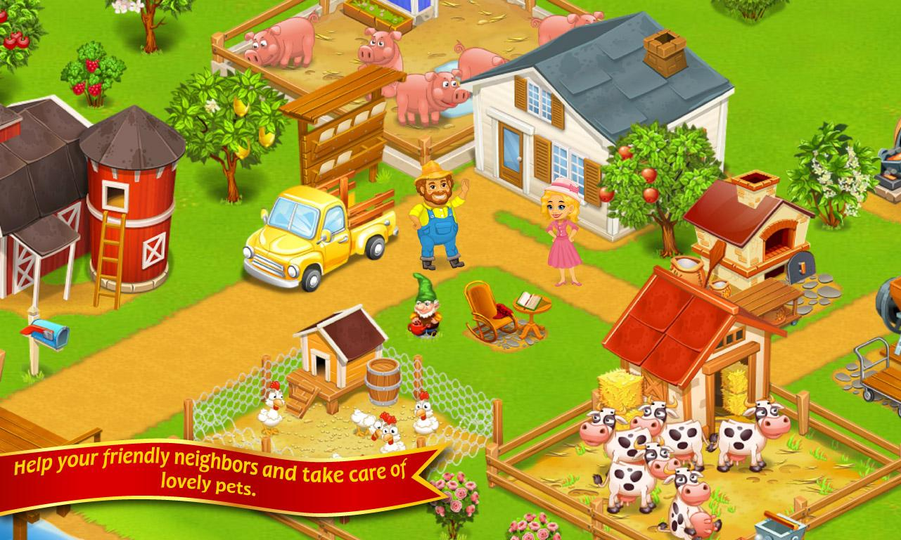 Farm Town™: Happy Day - screenshot