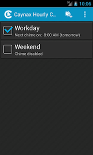 Hourly chime PRO - screenshot thumbnail