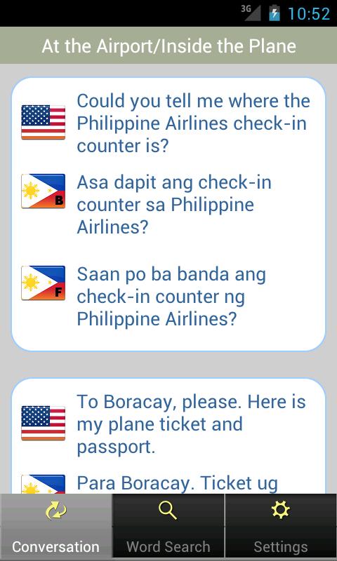 Bisaya - screenshot