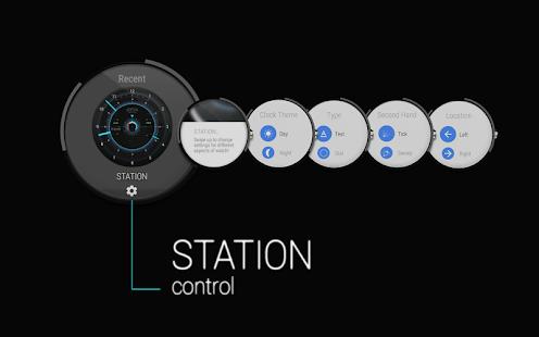 STATION - Watch face Screenshot 4