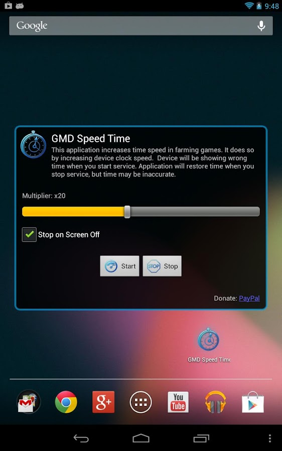 GMD Speed Time ★ root - screenshot