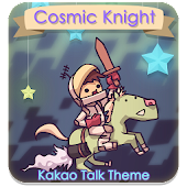 Kakao Talk Theme Cosmic Knight