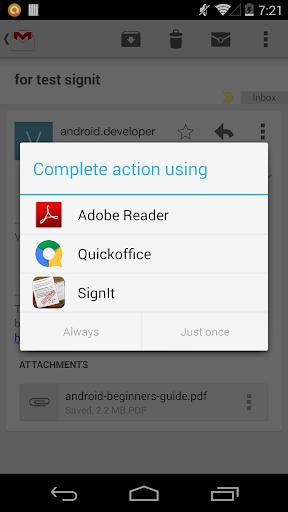 玩生產應用App|Sign It! - Sign and Send PDF免費|APP試玩