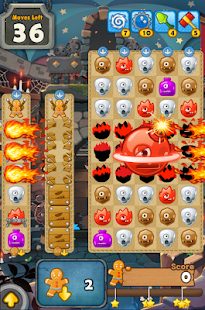 MonsterBusters: Match 3 Puzzle- screenshot thumbnail