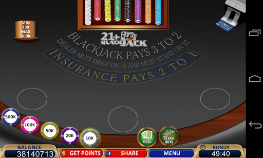 Blackjack 21+ Casino Card Game  8
