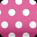 pink polkadots wallpaper ver29 icon