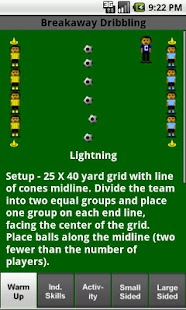 Soccer Drills U8 to U12- screenshot thumbnail