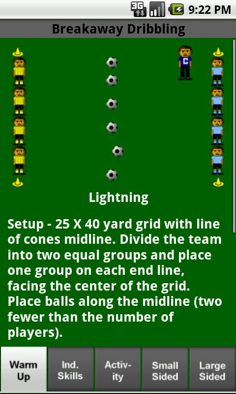 Soccer Drills U8 to U12- screenshot