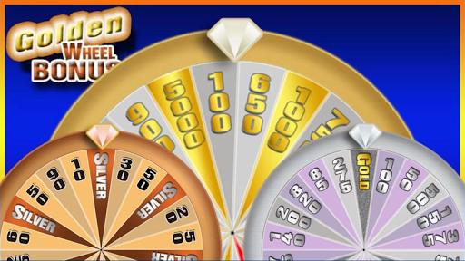 777 Slots - Golden Wheel Slots