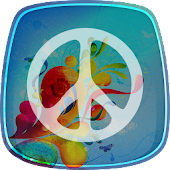 Peace Signs Live Wallpaper