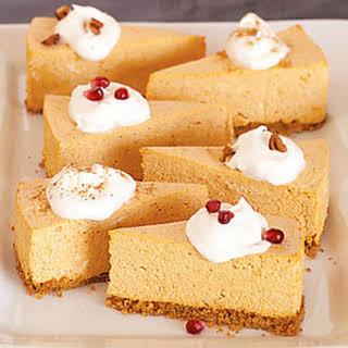No-Bake Pumpkin Cheesecake.
