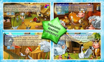 Screenshot of Nils Holgersson Story & Games