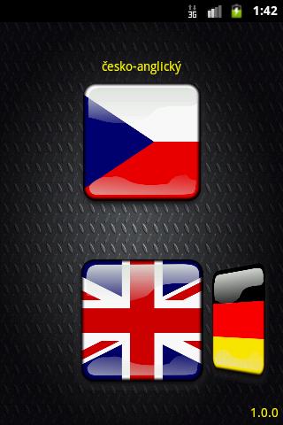 Slovník - anglický a německý