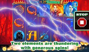 Screenshot of Ice and Flame Slot